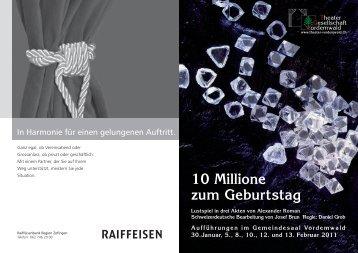 Programmheft 2011 als PDF - Theater-Gesellschaft Vordemwald