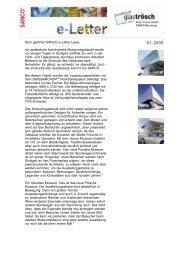 SANCO e-Letter - Glas Porschen GmbH