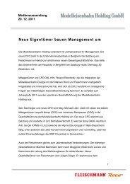Neue Eigentümer bauen Management um - Modelleisenbahn ...