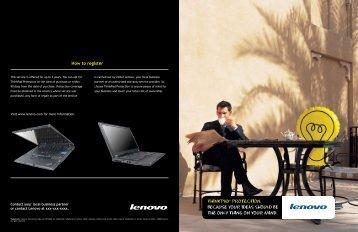 How to register - Lenovo