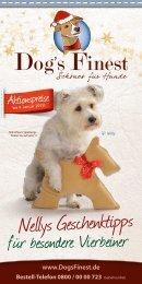 Nellys Geschenktipps - Erfreuen Sie Ihren Hund zu Weihnachten!