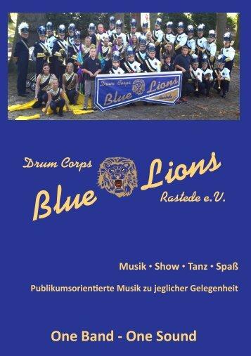 Blue Lions Flyer
