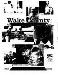 (1• S - Wake County Government