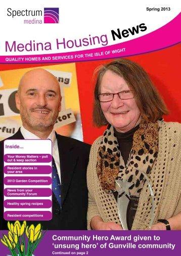 Medina News - Spectrum Housing Group