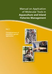 Genetics manual layout.indd - Library - Network of Aquaculture ...