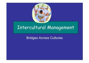 Intercultural Management - Eurochambres Academy