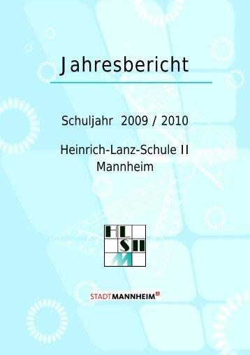 1. Historische Merkwürdigkeiten - Heinrich-Lanz-Schule II