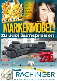 canto - Möbel Rachinger