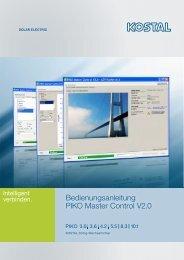 Bedienungsanleitung PIKO Master Control V2.0 - eurosunn