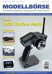 DX3S Surface Radio DX3S Surface Radio - Modellbörse