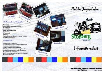 Mobile Jugendarbeit Mobile Jugendarbeit Informationsblatt ...