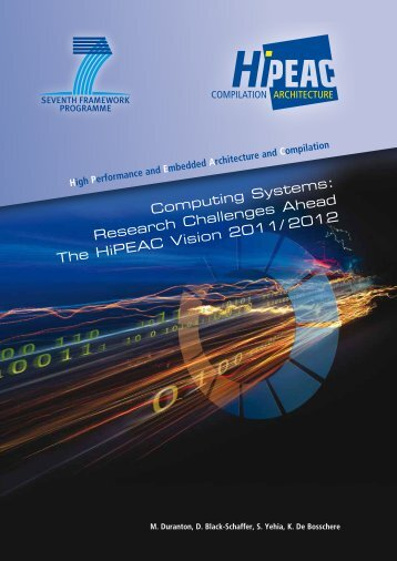 Computing Systems: Research Challenges Ahead The HiPEAC Vision
