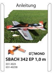 Anleitung SBACH 342 EP 1,0 m - Staufenbiel