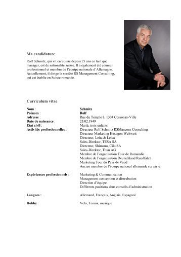 curriculum vitae et lettre de motivation guide pratique