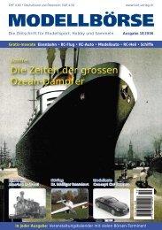 Die Zeiten der grossen Ozean-Dampfer - Modellbörse