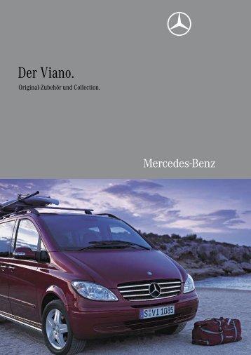 Der Viano. Original-Zubehör und Collection. - Mercedes-Benz ...