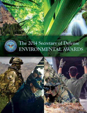 2014-SECDEF-Environmental-Awards-Brochure