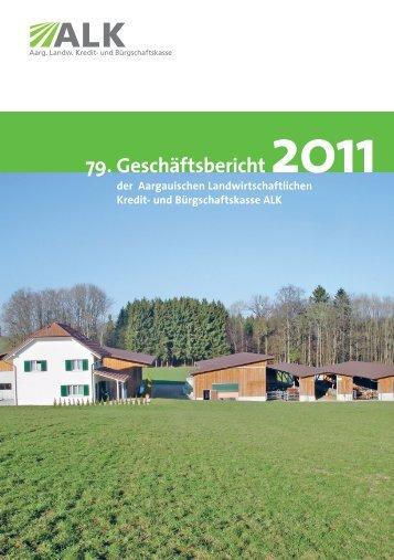 79. Geschäftsbericht 2011 - ALK Aargau