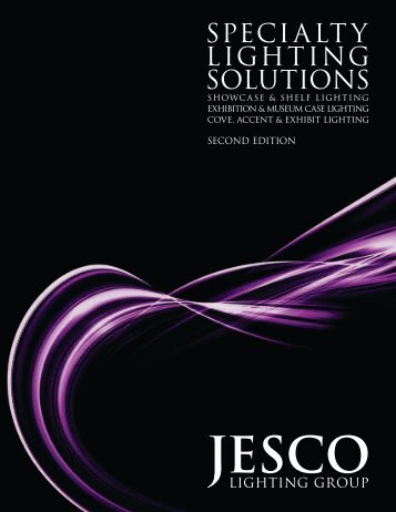 Specialty Lighting Solutions Second Edition - Jesco Lighting