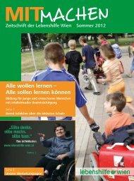 Alle wollen lernen – Alle sollen lernen können - Lebenshilfe Wien