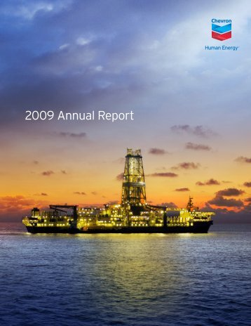 Annual Report 2009 | Chevron