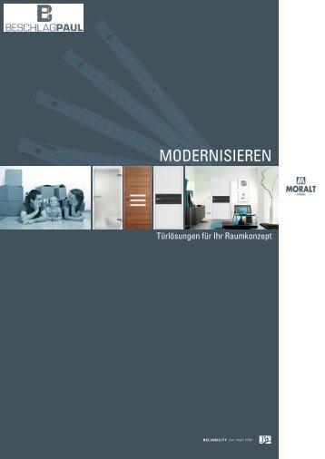 Moralt - Modenisieren - Beschlag Paul GmbH
