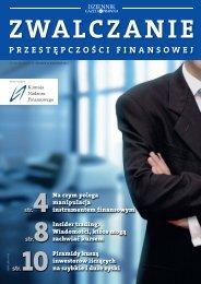 Zwalczanie przestępczości finansowej - Komisja Nadzoru ...