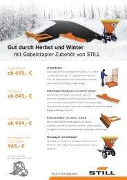 Flyer - Herbst Winter 2010.indd - Still GmbH