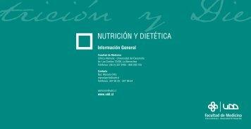 NUTRICIÓN Y DIETÉTICA - Universidad del Desarrollo