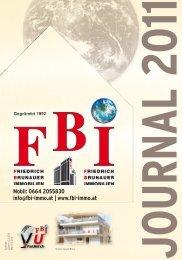 Mobil: 0664 2055830 info@fbi-immo.at - FBI - Friedrich Brunauer ...