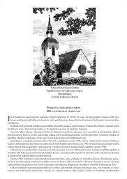 Terijoen luterilaisen kirkon esite - Terijoki
