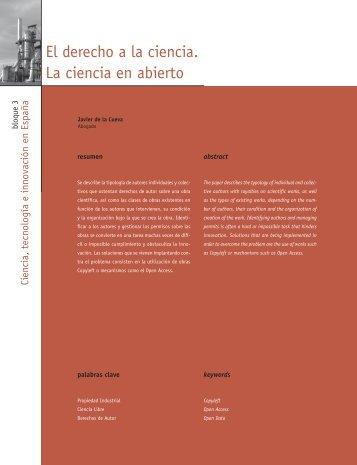 Innovación sin fronteras. El mito de la Sociedad del ... - Madri+d