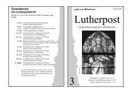 erreichen Sie uns - Lutherkirche Kiel
