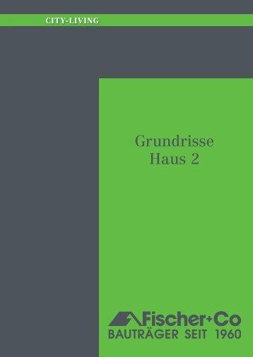 Grundrisse Haus 2 - Fischer + Co.