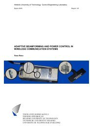 adaptive beamforming and power control in wireless communication ...