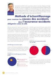 Méthode d'échantillonnage pour recenser les causes des accidents ...