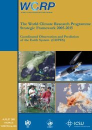 Coordinated Observation and Prediction of the Earth System