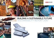 OneSteel Sustainability Report 2010 (PDF) - Arrium