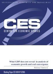 Working Paper CES UEM No I/2005 - VÅEM