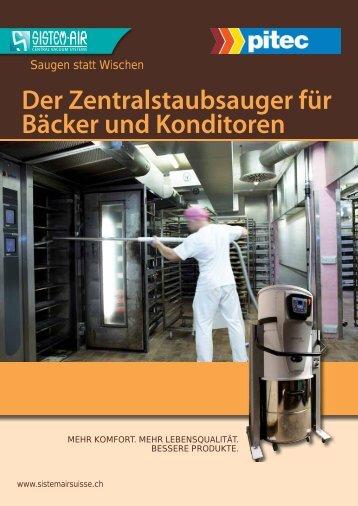 Der Zentralstaubsauger Für Bäcker Und Konditoren