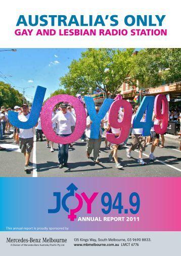 2011 Annual Report - Joy 94.9