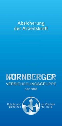 GN060_999_201101 Flyer Absicherung der Arbeitskraft