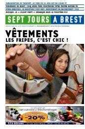 LES FRIPES, C'EST CHIC ! - Sept jours à Brest