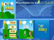Word Bubbles for Kids - RunMob