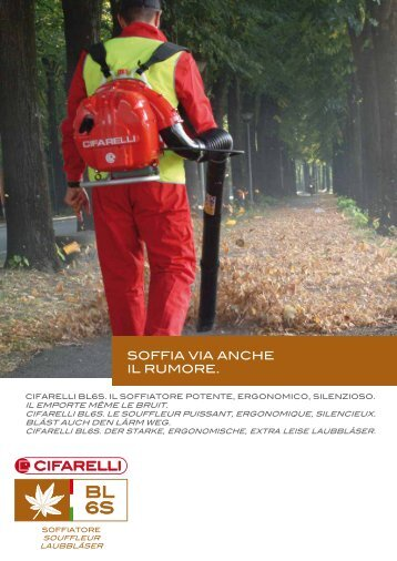 Depliant - Cifarelli SpA