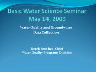 Water Quality & Groundwater Data Collection [pdf]