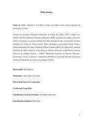 Ficha técnica - Mapa de Conflitos Ambientais de Minas Gerais