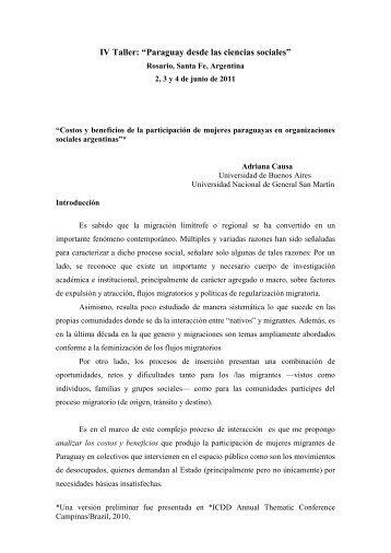 *ICDD Annual Thematic Conference - Grupo de Estudios Sociales ...
