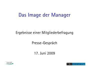 Charakteristische Merkmale von ManagerInnen ... - Die Wirtschaft