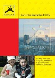 Jaarverslag 2004 - Generation R